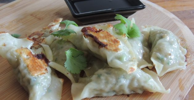 Pork coriander dumplings recipe