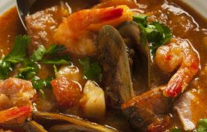 Chunky Fish Soup w Green-lipped Mussels - Jax Hamilton