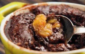 Chocolate Orange Self Saucing Pudding - Jax Hamilton