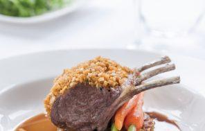 Rack of Lamb w Almond & Mint Crust - Jax Hamilton Cooks