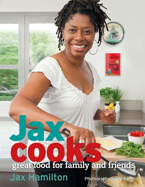 Jax Cooks - Book cover - High quality