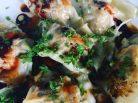 Veggie & Chestnut Crispy Bottom Dumplings - Jax Hamilton Cooks