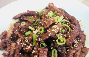 Korean BBQ Beef - Jax Hamilton