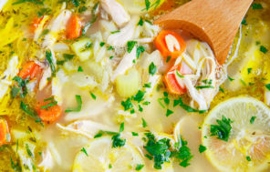 Moroccan Chicken & Lemon Soup : Jax Hamilton