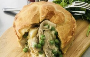 Chicken, Kumara and Dijon Mustard Pies - Jax Hamilton