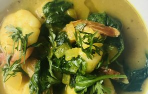 Prawn and Spinach Masala - Jax Hamilton Cooks