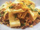Pappardelle with Feta, Walnuts & Hax Garlic Crispy Crumb - Jax Hamilton Cooks