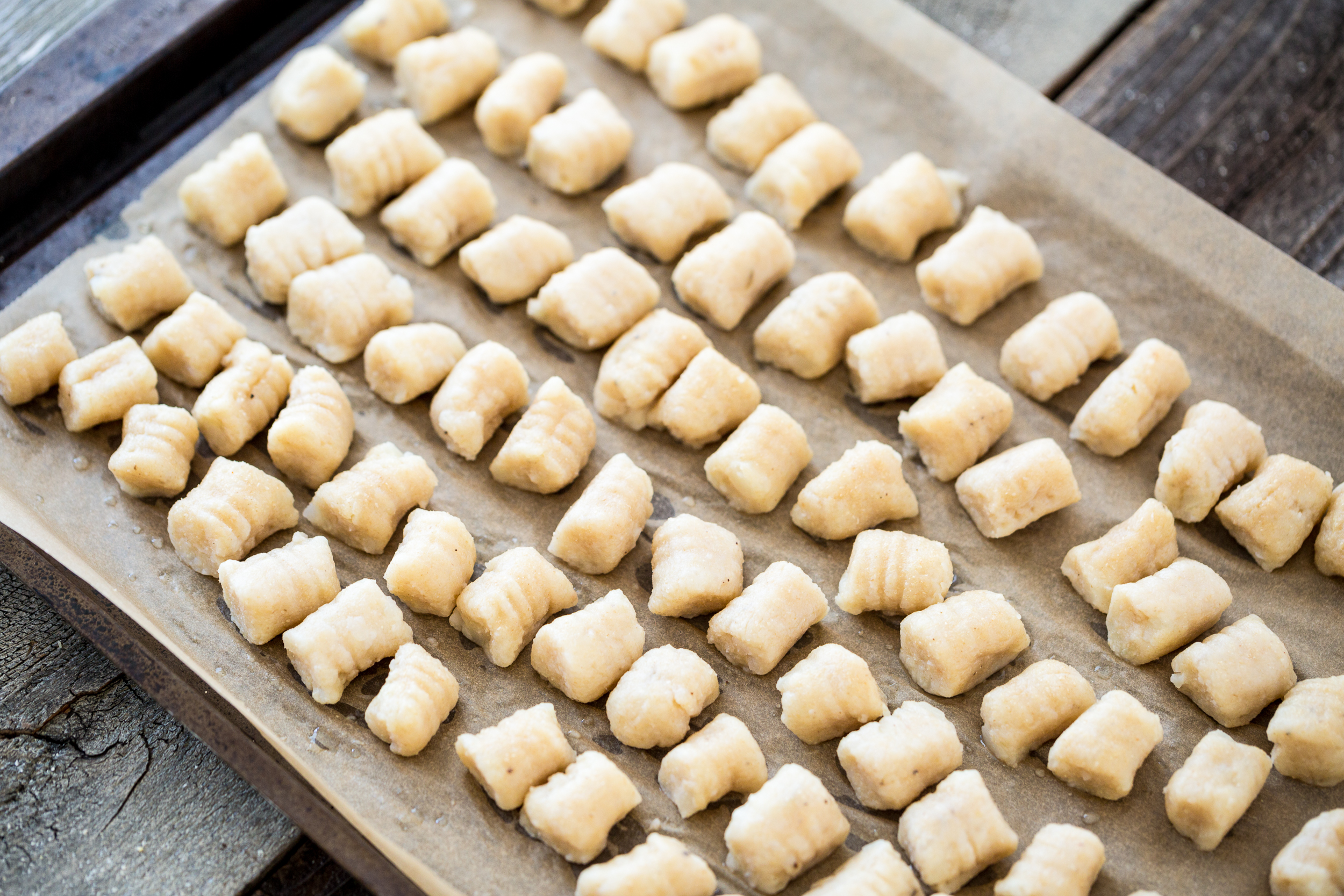 Gnocchi with Mushrooms, Thyme & Lemon - Jax Hamilton Cooks