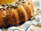Sticky Lemon & Pistachio Cake - Jax Hamilton Cooks