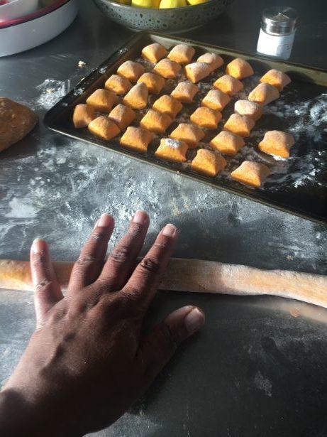 Smoked Pumpkin Gnocch with Feta, Sage & Orange Zest - Jax Hamilton Cooks